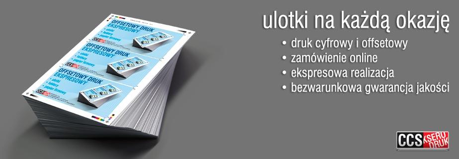 ulotki Poznań