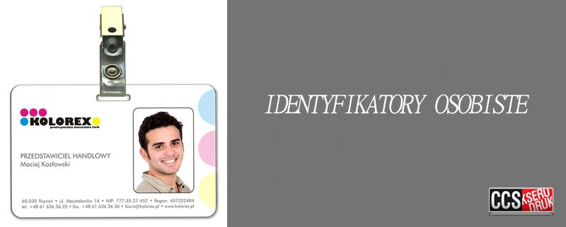 Identyfikatory osobiste
